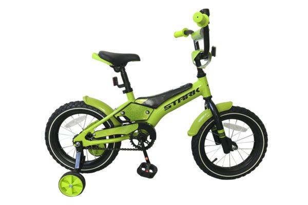 Велосипед Stark'19 Tanuki 14 Boy зелёныйчёрный