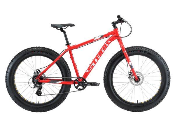 Велосипед Stark'20 Fat 26.2 D красныйбелыйсерый 18