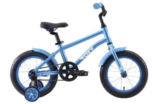 Велосипед Stark'20 Foxy 14 Boy голубойбелый