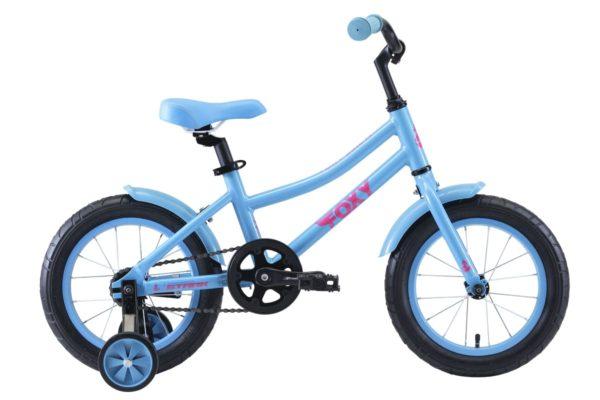 Велосипед Stark'20 Foxy 14 Girl бирюзовыйрозовый