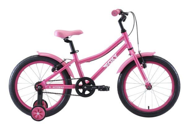 Велосипед Stark'20 Foxy 18 Girl розовыйбелый