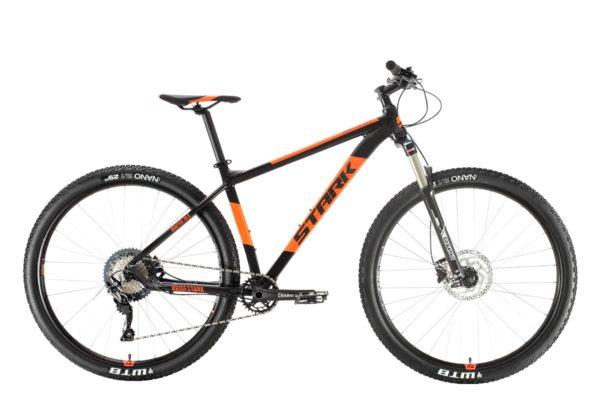Велосипед Stark'20 Krafter 29.8 HD SLX черныйоранжевый 18