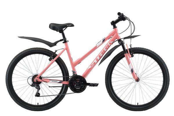 Велосипед Stark'20 Luna 26.1 V розовыйбелыйсерый 18