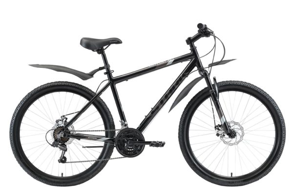 Велосипед Stark'20 Outpost 26.1 D черныйсерыйсерый 16