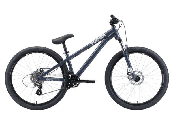 Велосипед Stark'20 Pusher-1 серыйсеребристый S