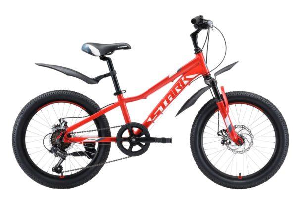 Велосипед Stark'20 Rocket 20.1 D красныйбелыйсерый