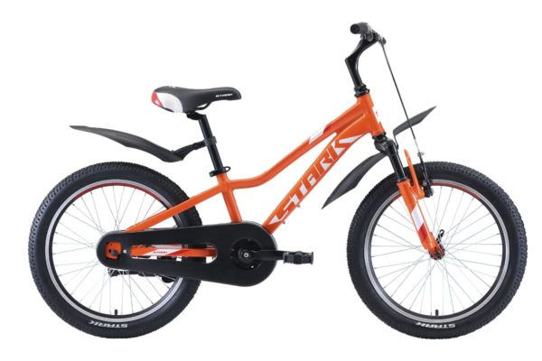 Велосипед Stark'20 Rocket 20.1 S оранжевыйбелыйкрасный