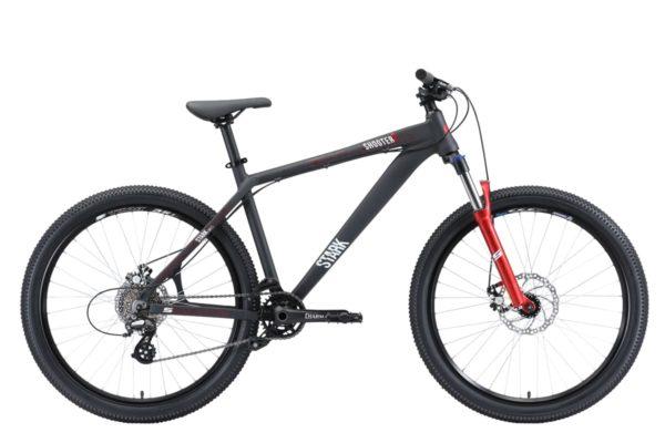Велосипед Stark'20 Shooter-2 чёрныйбелыйкрасный 18