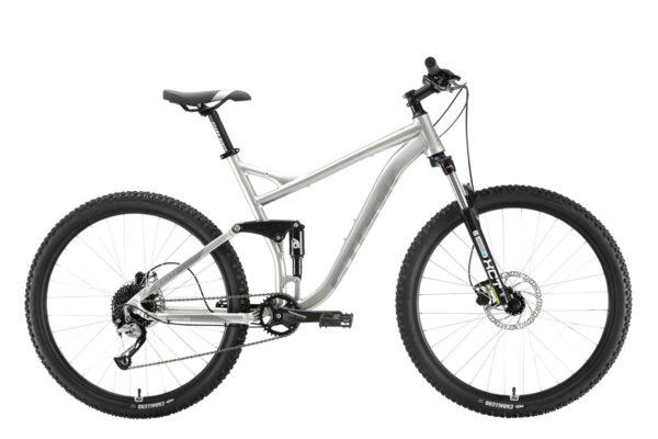 Велосипед Stark'20 Tactic 27.5 FS HD серебристыйсерый 22