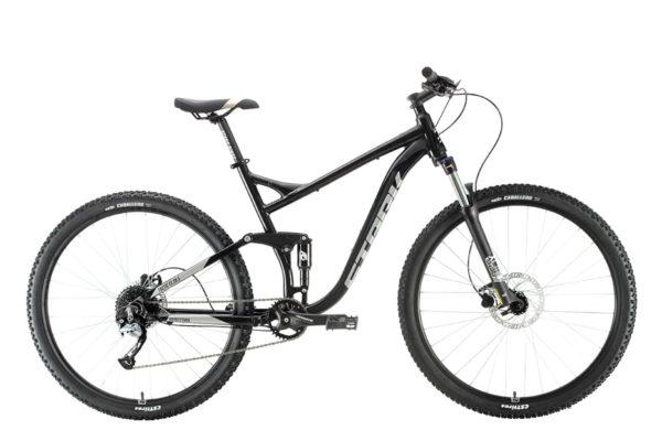 Велосипед Stark'20 Tactic 29.5 FS HD черныйсеребристый 22