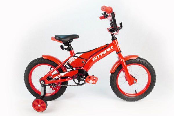 Велосипед Stark'20 Tanuki 14 Boy красныйбелый