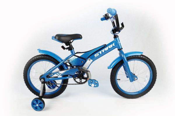 Велосипед Stark'20 Tanuki 16 Boy голубойбелый