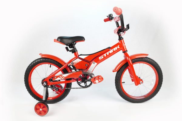 Велосипед Stark'20 Tanuki 16 Boy красныйбелый
