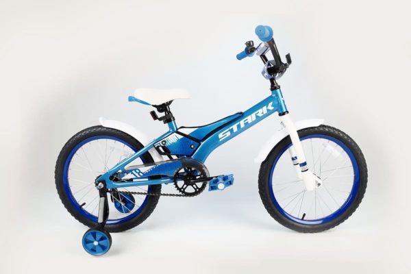 Велосипед Stark'20 Tanuki 18 Boy голубойбелый