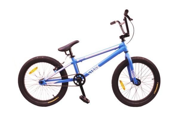Велосипед Stark'21 Madness BMX Race синийбелый