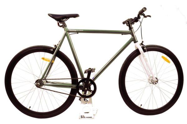 Велосипед Stark'21 Terros 700 S зеленыйбелый 18