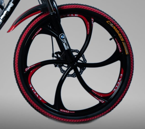 Велосипед БВМ черный на литых дисках