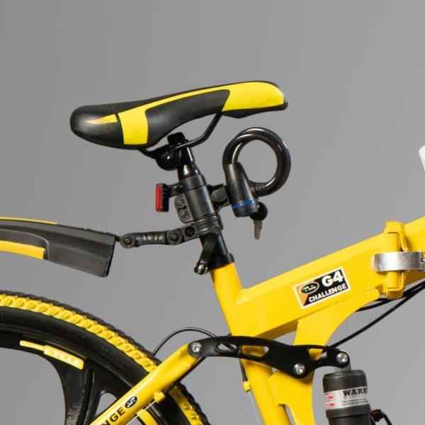 Велосипед на литых дисках Лэнд Ровер Желтый