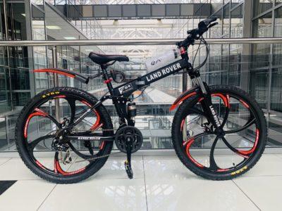 Велосипед складной Land Rover Черный